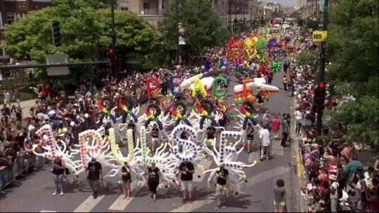 Chicago Pride Parade 2016 - Balloons by Tommy