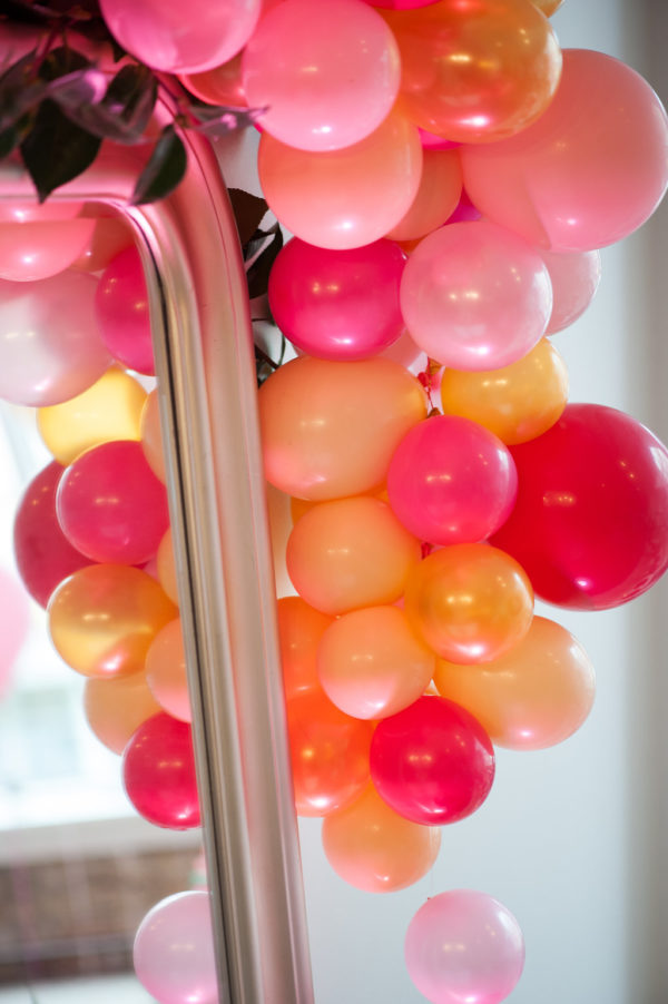 Organic balloon decor - Balloons by Tommy