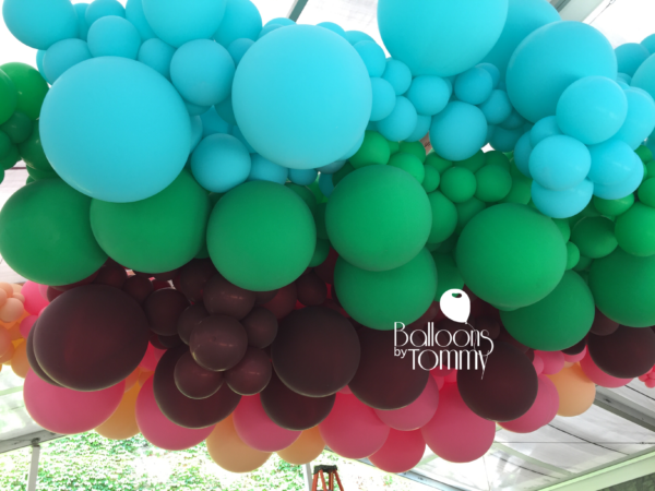 City Winery Install - Balloons by Tommy