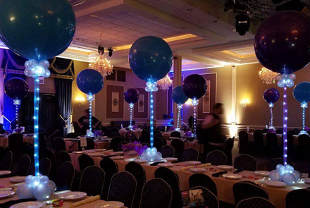 Balloons By Tommy Lighting Effects